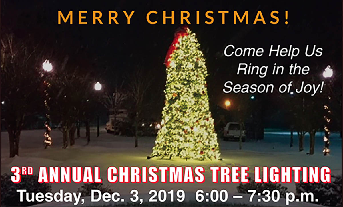 Christmas tree lighting 2019