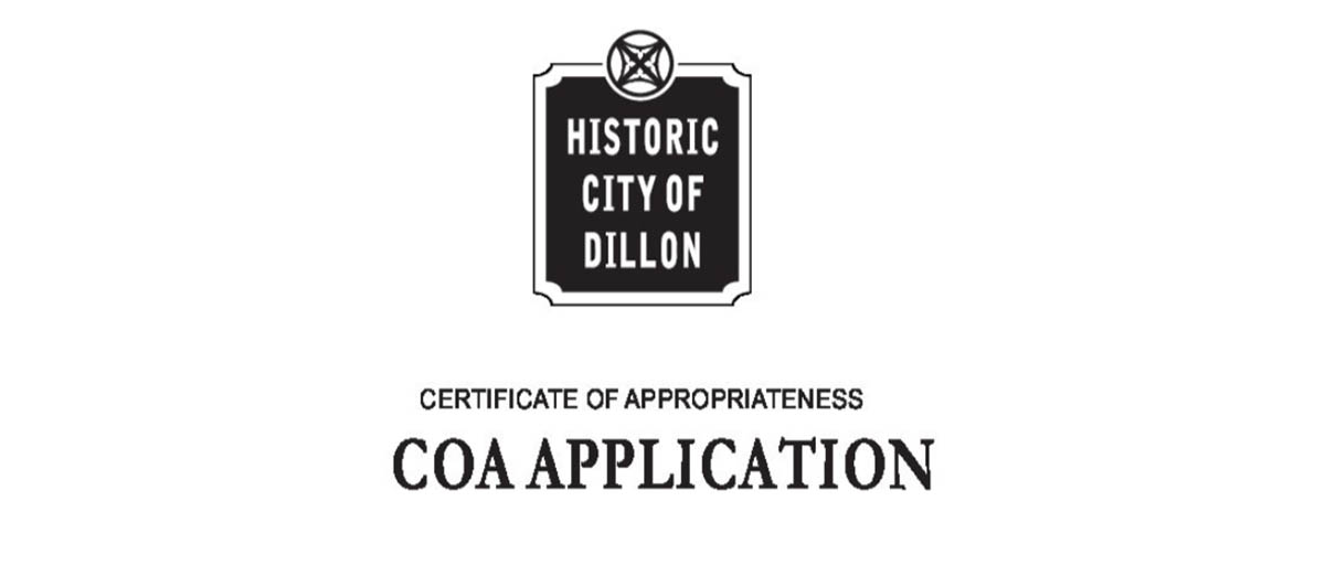 COA Application